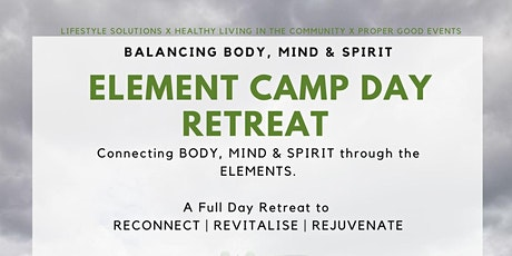 Element Camp Day Retreat tickets
