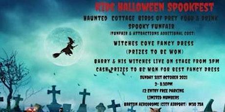 Kids Halloween Spookfest tickets