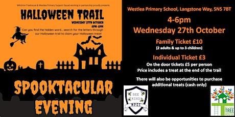 Westlea Halloween Trail - Spooktacular Evening tickets