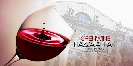 OPENWINE in PIAZZA AFFARI Duomo biglietti
