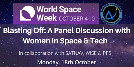 Blasting Off - A Panel Discussion with Women in Space and Tech tickets