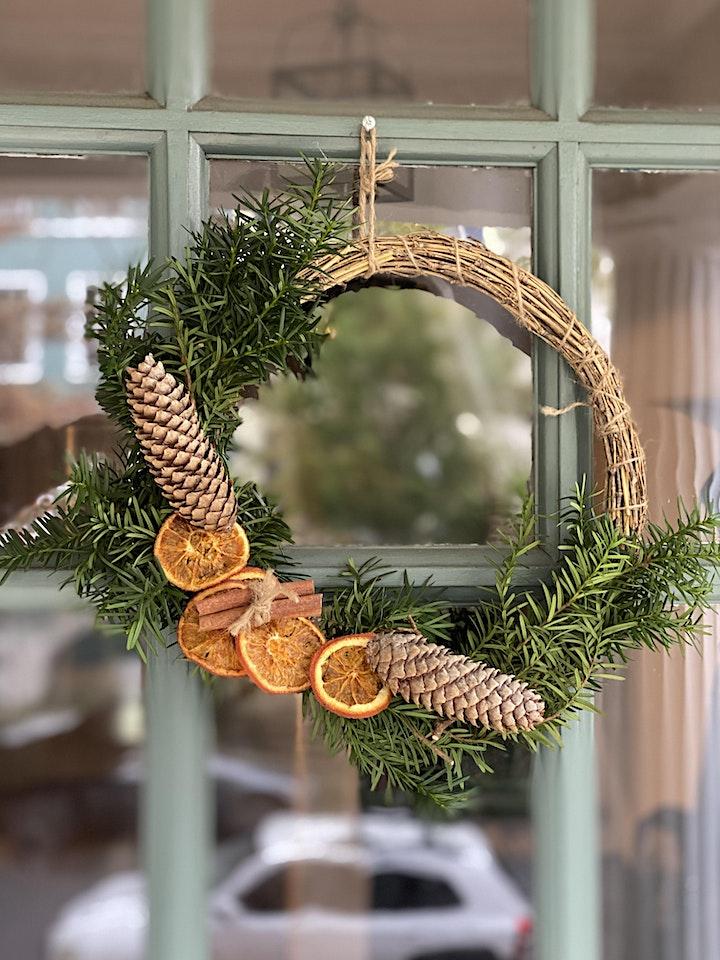 Winter Wreath Making Class image