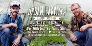 The Urban Farmer Masterclass - Taranaki