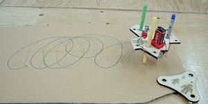 Tech x Art - Kids can make drawing robots