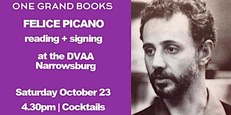 Felice Picano in conversation tickets