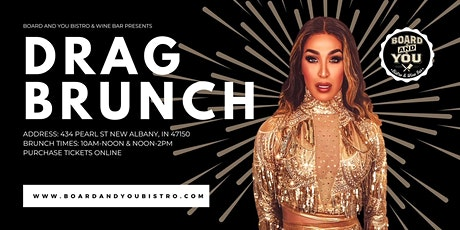 Board and You Bistro & Wine Bar: Drag Brunch CHRISTMAS EDITION! tickets