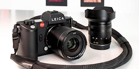 Leica SL - det allsidige kamerasystemet tickets