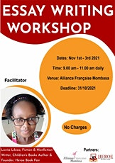 Essay Writing Workshop by Lorna Likiza tickets
