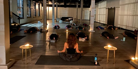 Candlelit Slow Flow + Yin Yoga with Gong Bath tickets