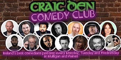 Craic Den Comedy Club - November 2nd tickets