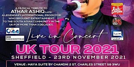 Attaullah Khan Esakhelvi Live in Concert - Sheffield tickets