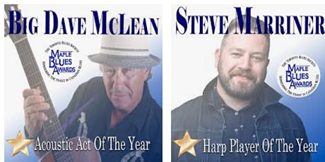 Big Dave McLean and the Muddy-Tones featuring Steve Marriner tickets