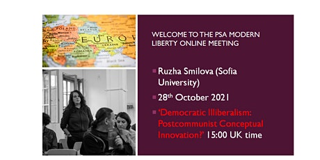 Ruzha Smilova on Democratic Illiberalism in Postcommunist Europe tickets