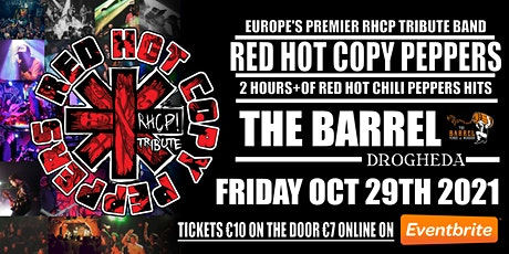 Red Hot Copy Peppers Live At The Barrel Drogheda tickets