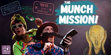 The Munch Mission!  by Brave Bold Drama (Exeter Library) tickets