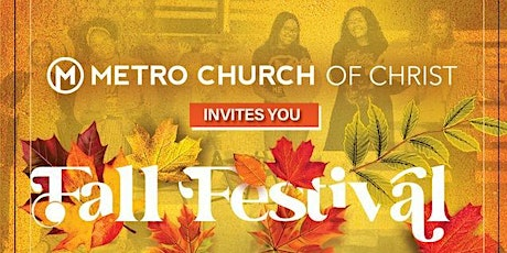 Metro Presents: Fall Worship and Festival tickets