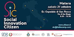 2° tappa Social Innovation Citizen - Innovazione...