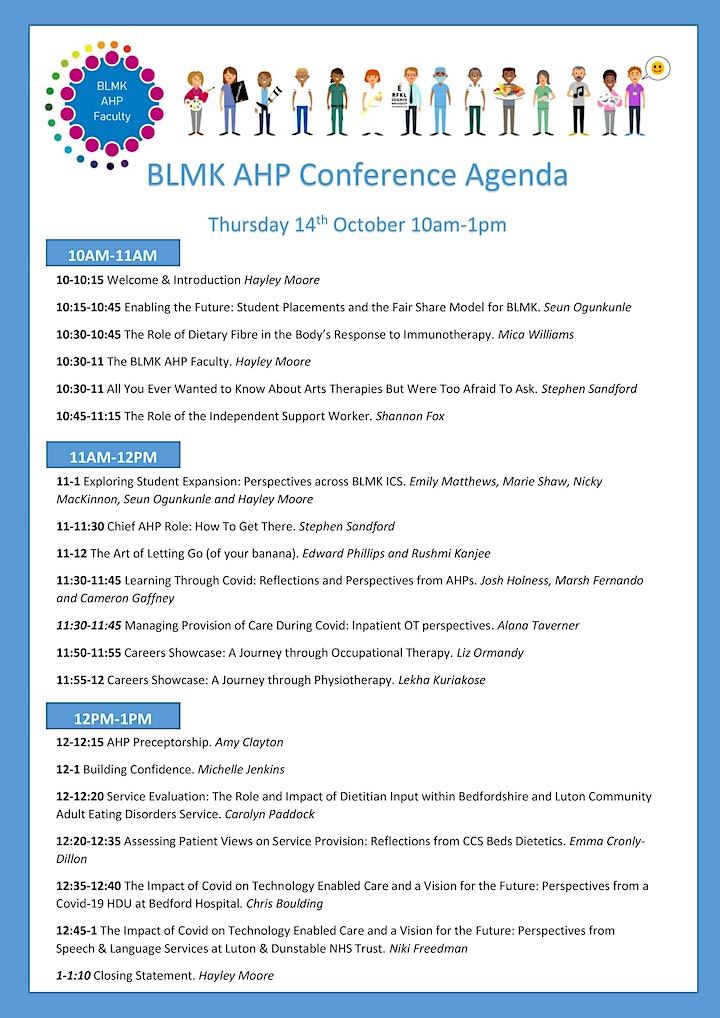 FREE BLMK  Allied Health Professionals Conference 2021 image