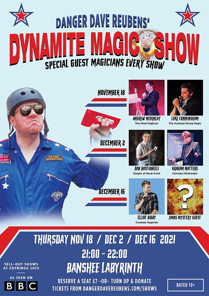 Dynamite Magic Show! - with Danger Dave Reubens image