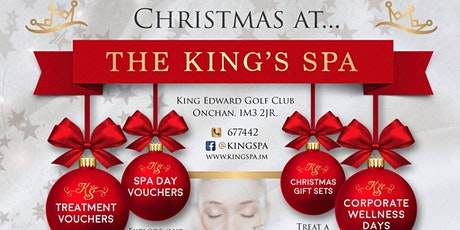 Christmas Gift Ideas and keep Glowing with the King Spa tickets