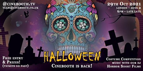 HALLOWEEN 2021 - CINEBOOTH IS BACK! tickets