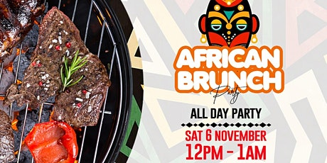 African Brunch Party - All Day Party tickets