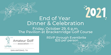 LPGA Amateurs San Antonio Chapter End of Year Dinner tickets
