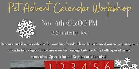 Advent Pet Calendar Workshop (Adult/YA) tickets