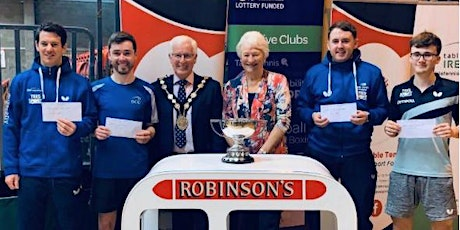The Robinson's Ice Cream Ulster Open Table Tennis Championships 2021 tickets