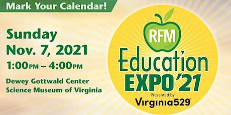 2021 RFM Education Expo tickets