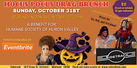 Hocus Pocus Drag Brunch for Humane Society of Huron Valley tickets