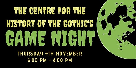 Gothic Social and Game Night tickets