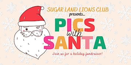 Sugar Land Lions Club's Pics with Santa Fundraiser tickets