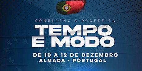 Conferência Profética Tempo e Modo tickets