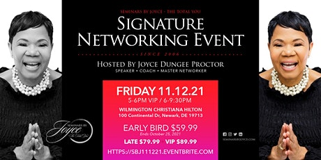 Seminars By Joyce - The Total You Signature Networking Event tickets