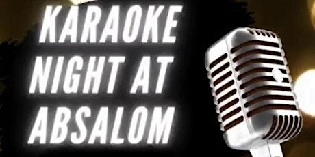 Absalom's Karaoke Night tickets