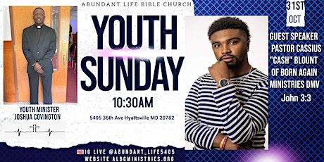 Youth Sunday tickets