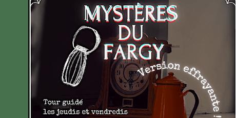 MYSTÈRES DU FARGY billets