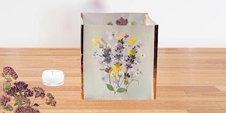 Pressed Flower Luminaire Workshop tickets