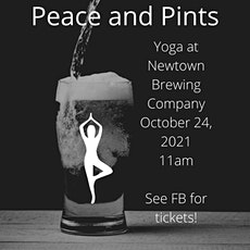 Peace And Pints Yoga tickets