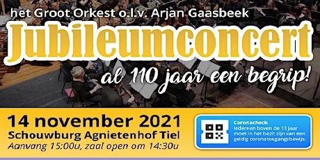 K&V jubileum concert 110 jaar tickets