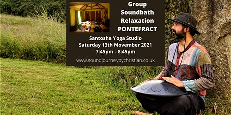 Soundbath Relaxation Experience: Himalayan Singing Bowl  and Hand Pan tickets