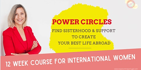Power Circles course for International women in Portugal tickets