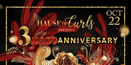Hause of Curls 3 Year Anniversary Masquerade Ball tickets