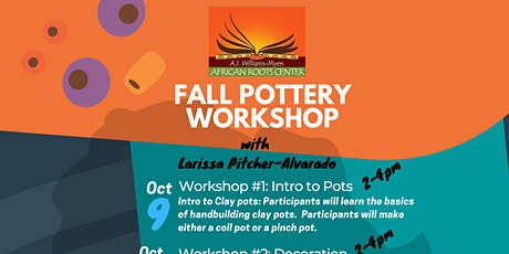 Fall Pottery Workshop tickets