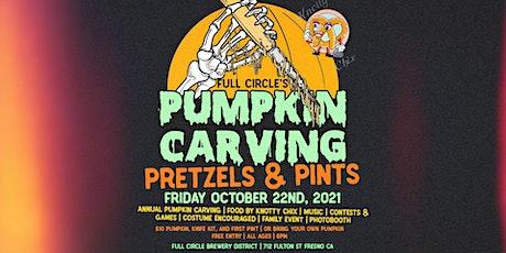 Pumpkin Carving, Pretzels, & Pints tickets