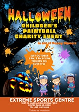 Children's Halloween Paintball Charity Event 3 pm Slot tickets