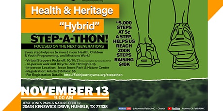 Health & Heritage Step A Thon tickets