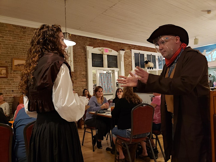 Bed Down at the Bad Box Saloon - An Immersive Murder Mystery Dinner Event image
