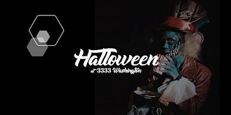 Halloween at 3333 Washington tickets